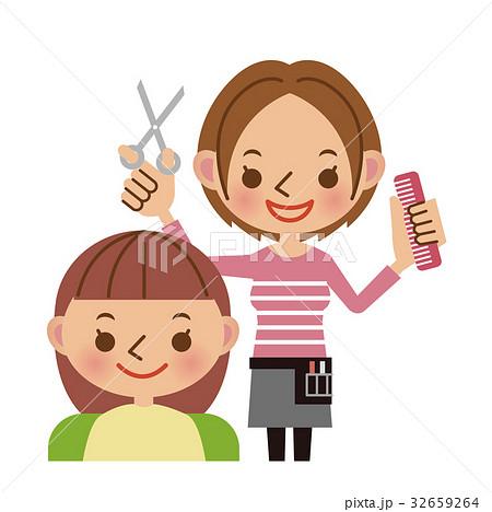 美容師とお客様 32659264