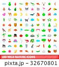 100 100 自然のイラスト 32670801