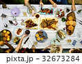 Barbeque cooking outdoor leisure party 32673284