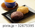 おはぎ 和菓子 食べ物の写真 32675395