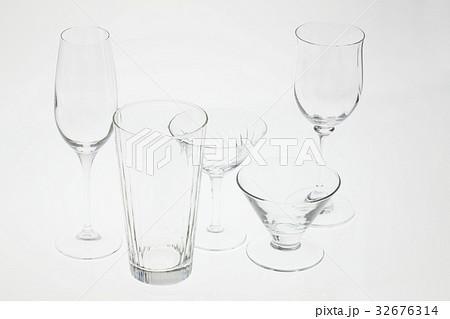 グラスの写真素材 [32676314] - PIXTA