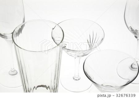 グラスの写真素材 [32676339] - PIXTA