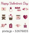 チョコレート 2月 ハートのイラスト 32676835