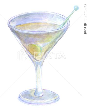 水彩イラスト 食品 カクテル 32682935