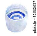 水彩イラスト 食品 日本酒 32682937
