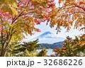 富士山 紅葉 秋の写真 32686226