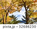 富士山 紅葉 秋の写真 32686230