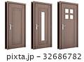 ドア 戸 扉のイラスト 32686782