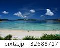 渡嘉敷島 海 とかしくビーチの写真 32688717
