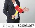 ビジネスシーン トンカチを持つ女性 32693867