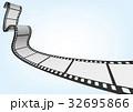 特寫電影 / 攝影 35mm 底片模板,向量3D元素 32695866