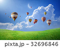 気球 くも 雲の写真 32696846