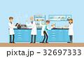 研究室 科学者 ベクタのイラスト 32697333