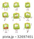 カバン 巾着 巾着袋のイラスト 32697401