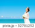 新婦 ウェディング 海の写真 32701252