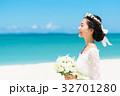 新婦 ウェディング 海の写真 32701280
