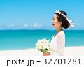 新婦 ウェディング 海の写真 32701281