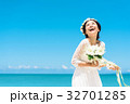 新婦 ウェディング 海の写真 32701285