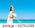 新婦 ウェディング 海の写真 32701288