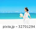 新婦 ウェディング 海の写真 32701294