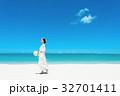 新婦 ウェディング 海の写真 32701411