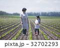 親子 農家 母子の写真 32702293