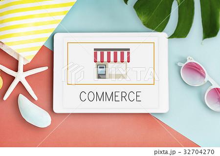 Small Business Merchandise Retail Online Shop Graphic 32704270
