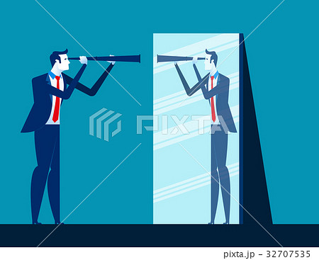 Financial risk. Businessman Tied with rope. 32707535