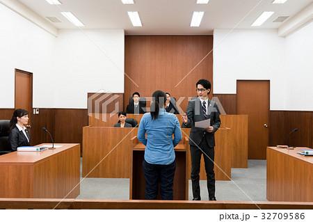 法廷の写真素材 [32709586] - PI...