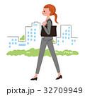 働く女性 外 32709949