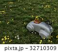 草原にあるおもちゃの乗り物 32710309