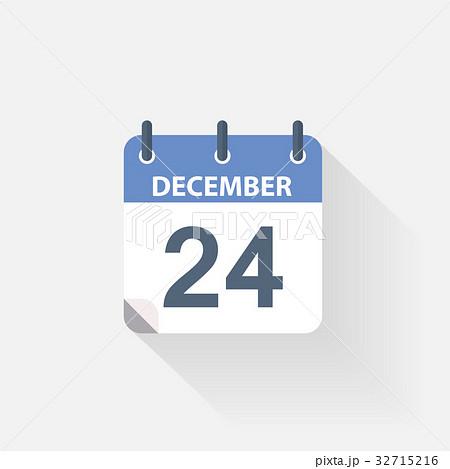 24december calendar icon 32715216