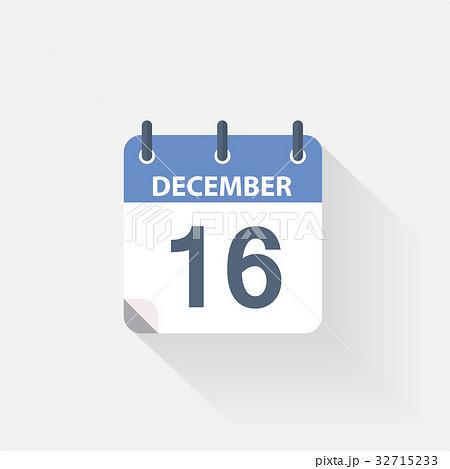 16 december calendar icon 32715233