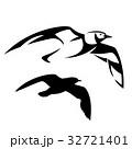 かもめ 海猫 海のイラスト 32721401