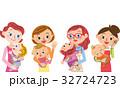 赤ちゃんと母親 32724723