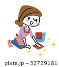 掃除 主婦 女性のイラスト 32729181