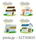 住宅 建物 災害のイラスト 32730835