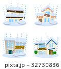 住宅 家 災害のイラスト 32730836