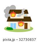 住宅 建物 災害のイラスト 32730837