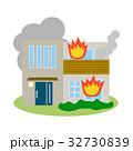住宅 建物 災害のイラスト 32730839