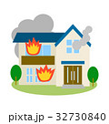 住宅 建物 災害のイラスト 32730840