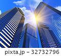 ビジネス ビル ビル群のイラスト 32732796