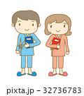健康診断を受ける夫婦 32736783