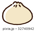 中華まん 肉まん 中華料理のイラスト 32740942