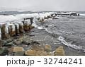 松前 積雪 桟橋跡の写真 32744241