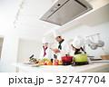 シェフ コック 職場体験 料理 料理教室 料理 家族 親子 子供 32747704