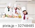 シェフ コック 料理 料理教室 料理 キッチン 女性 32748485