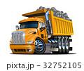 Vector Cartoon Dump Truck 32752105