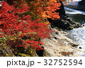 紅葉 秋 渓谷の写真 32752594