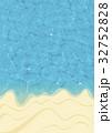 ビーチ 海 リゾートのイラスト 32752828